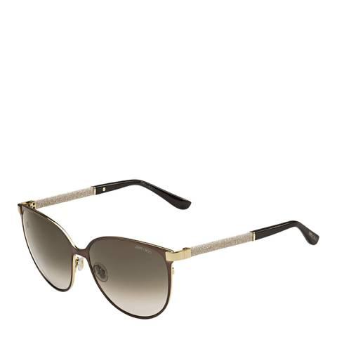 Jimmy Choo Women's Brown Sunglasses 60mm