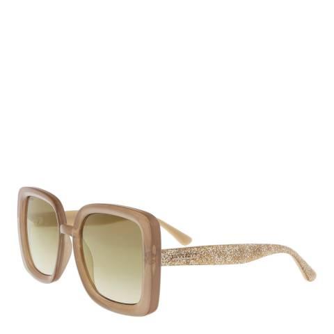 Jimmy Choo Women's Beige Sunglasses 54mm