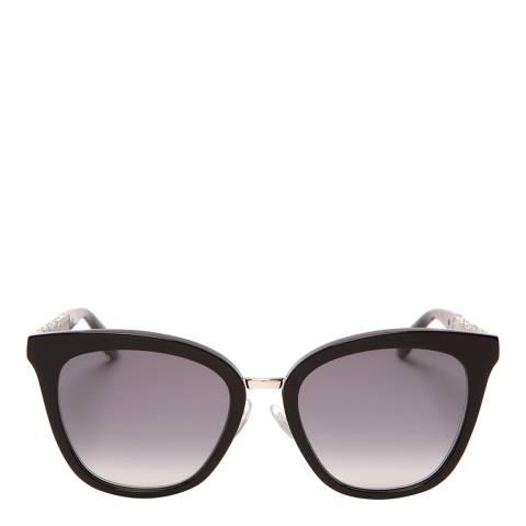 Jimmy Choo Women's Black Glitter Jimmy Choo Sunglasses 53mm