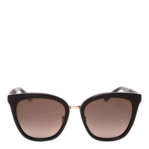 Jimmy Choo Women's Brown Glitter Jimmy Choo Sunglasses 53mm