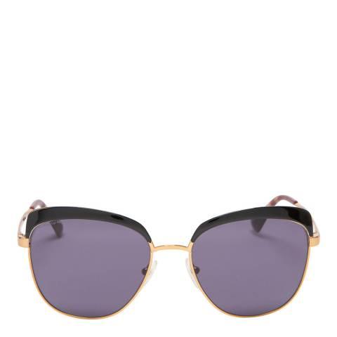 Prada Women's Gold/Purple Sunglasses 56mm