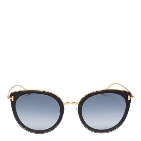 Tom Ford Women's Black Sunglasses 64mm