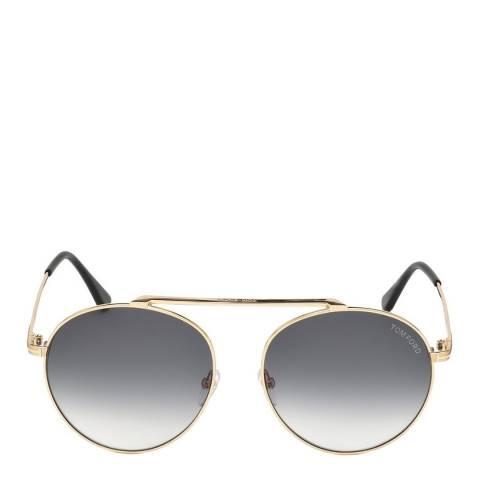 Tom Ford Women's Gold Sunglasses 58mm