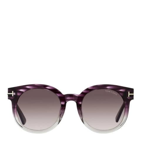 Tom Ford Women's Purple Sunglasses 51mm