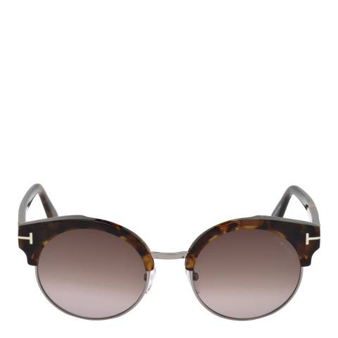 Tom Ford Women's Tortoiseshell Sunglasses 54mm