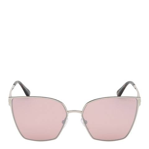 Tom Ford Women's Silver Sunglasses 59mm