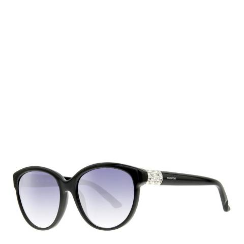 SWAROVSKI Women's Black Sunglasses 57mm