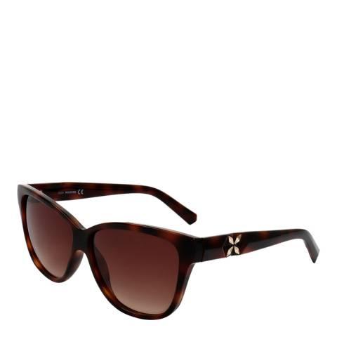 SWAROVSKI Women's Tortoiseshell Sunglasses 59mm