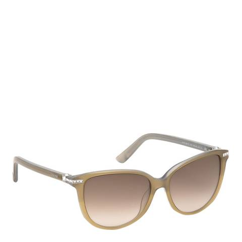SWAROVSKI Women's Beige Sunglasses 56mm