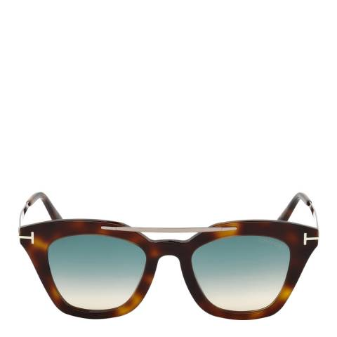 Tom Ford Women's Tortoiseshell Sunglasses 49mm