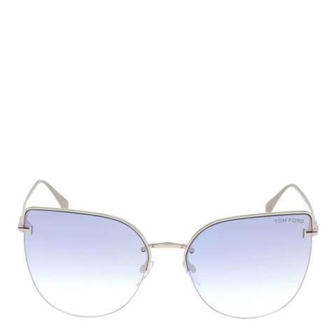 Tom Ford Women's Silver Sunglasses 61mm