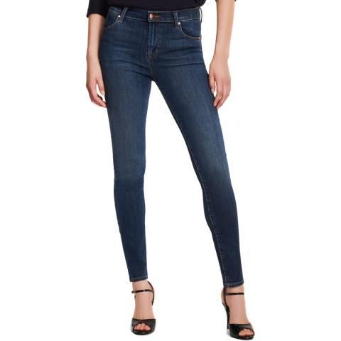 J Brand Blue Maria Skinny Stretch Jeans