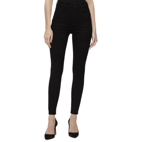 J Brand Black Leenah High Rise Ankle Skinny Jeans