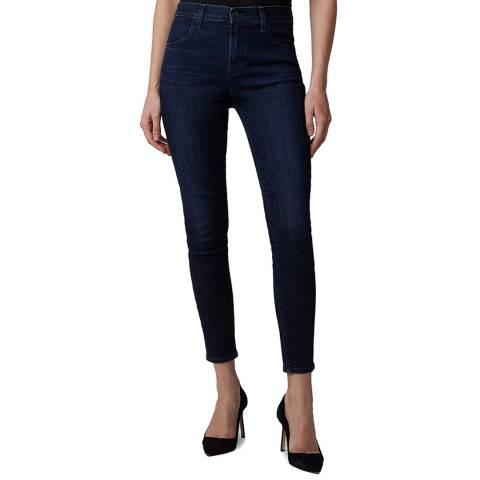 J Brand Blue Alana Crop Skinny Stretch Jeans