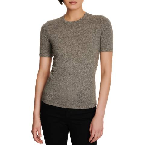 J Brand Grey Marta Cotton Blend T-Shirt