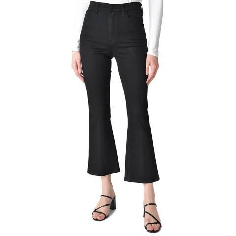 J Brand Black Julia Flared Stretch Jeans