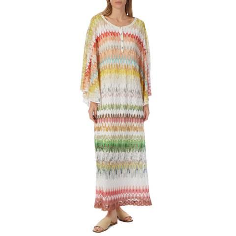 Missoni Multi Zigzag Woven Maxi Dress