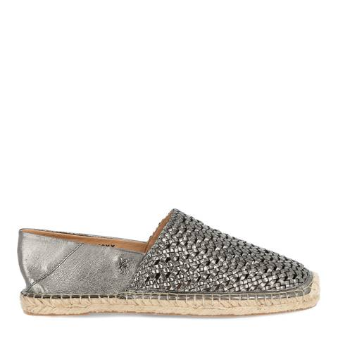 Mexx Pewter Leather Esther Espadrille