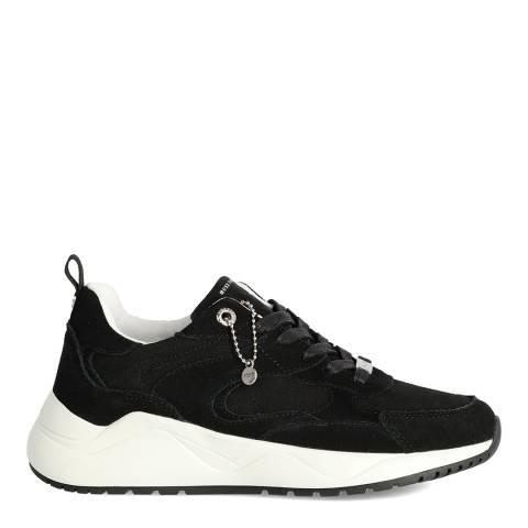Mexx Black Suede Dyonna Sneaker