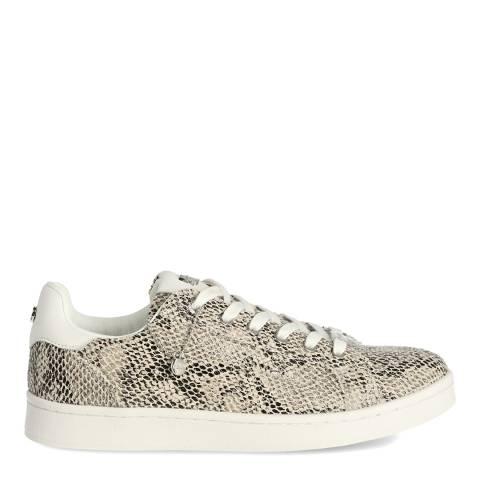 Mexx Taupe Snake Print Sneaker