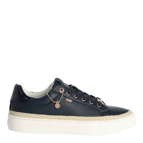 Mexx Navy Raffia Sneaker