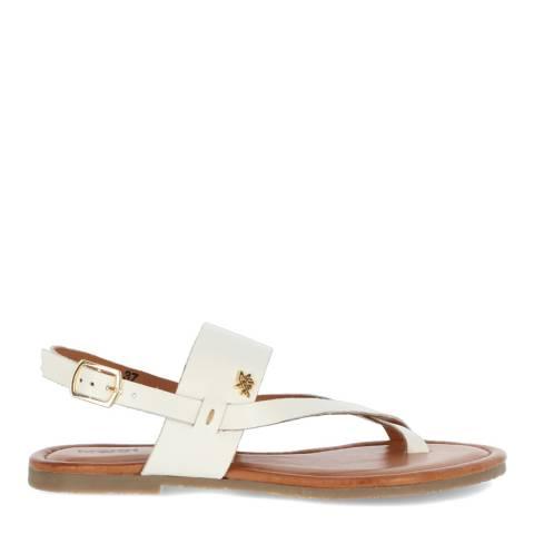 Mexx White Leather Evelinn Sandal