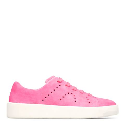 Camper Pink Courb Leather Sneakers
