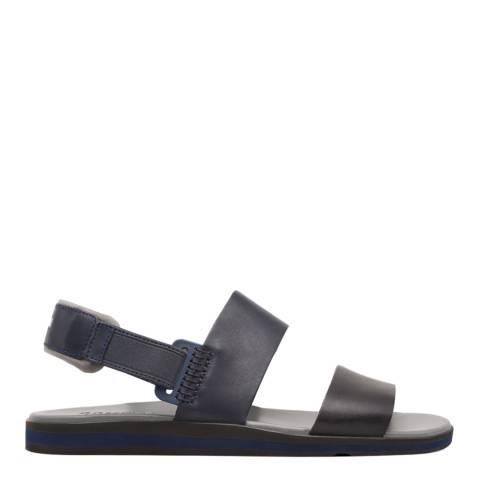 Camper Black/Navy Spray Sandals