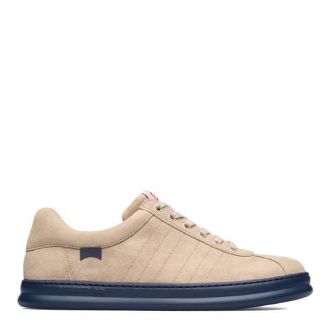 Camper Beige Runner Leather Sneakers