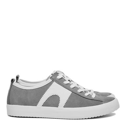 Camper Grey Imar Leather Sneakers