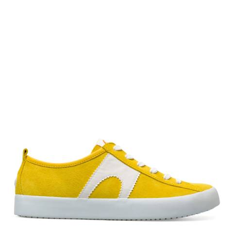 Camper Yellow Imar Leather Sneakers