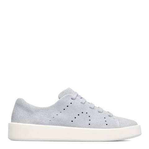 Camper Blue Courb Leather Sneakers