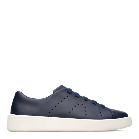 Camper Navy Courb Leather Sneakers
