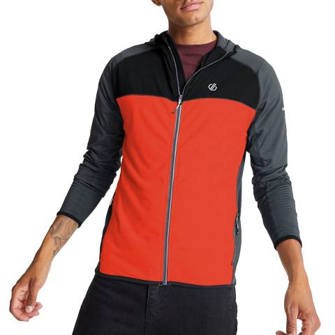 Dare2B Red Stretch Hooded Jacket