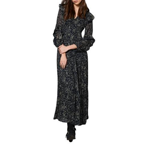 Mint Velvet Multi Print V-Neck Maxi Dress