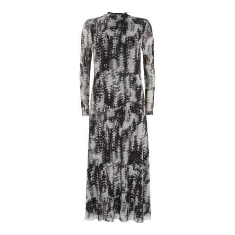 Mint Velvet Multi Tie Dye Print Midi Dress