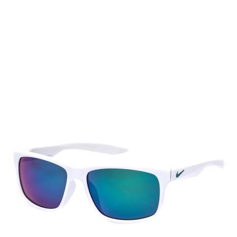 Nike Men's White/Green Nike Sunglasses 59mm