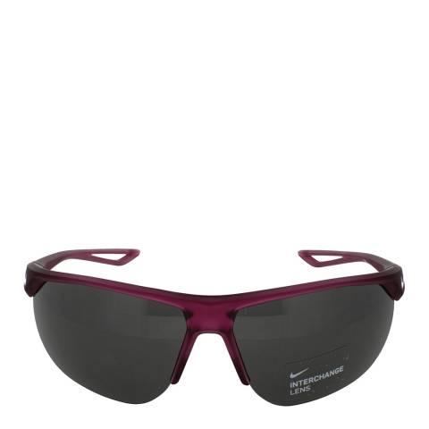 Nike Men's Dark Grey/Berry Nike Sunglasses 67mm