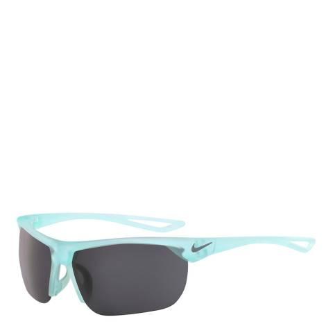 Nike Unisex Grey/Aqua Nike Sunglasses 63mm