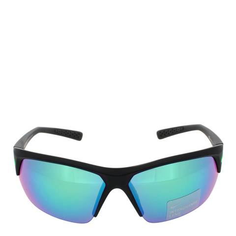Nike Unisex Black/Green Nike Sunglasses 69mm