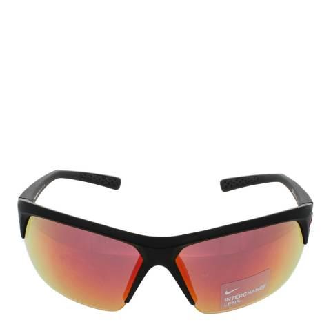 Nike Unisex Red/Silver/Grey Nike Sunglasses 69mm