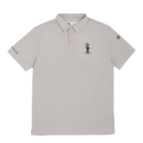AC36 BY PRADA AC36 By Prada Grey Cotton Polo Shirt