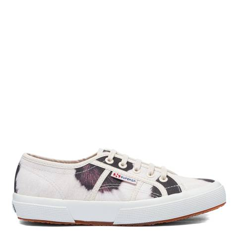 Superga Beige 2750 Animal Print Sneakers