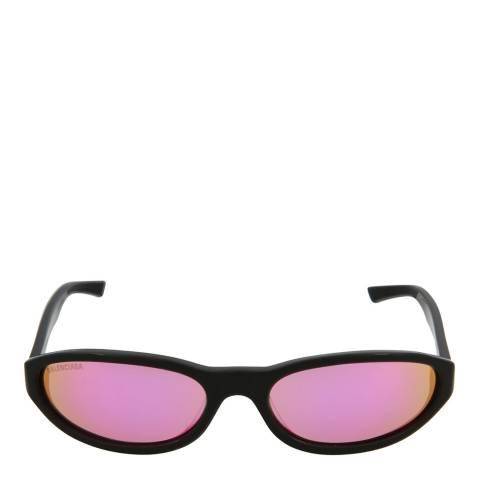 Balenciaga Unisex Black/Pink Balenciaga Sunglasses 59mm