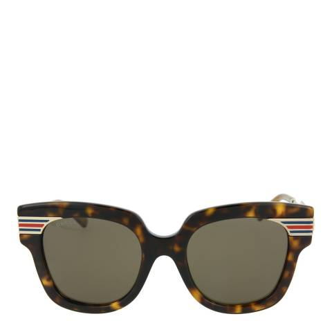 Gucci Women's Havana Gucci Sunglasses 51mm