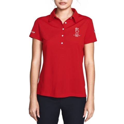 AC36 BY PRADA AC36 By Prada Red Polo Shirt