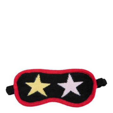 Laycuna London Multi Star cashmere eye mask