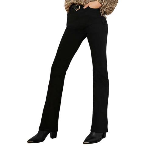 Mint Velvet Black Bootleg Stretch Jeans