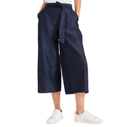 Phase Eight Blue India Culotte Trousers