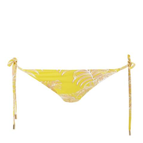 Melissa Odabash Tropical Yellow Miami Bottom